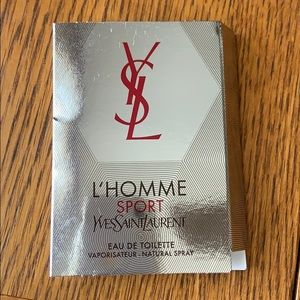 YSL L'Homme Sport sample